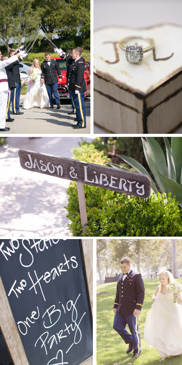 vintage country chic wedding from intertwined events   britt rene photo