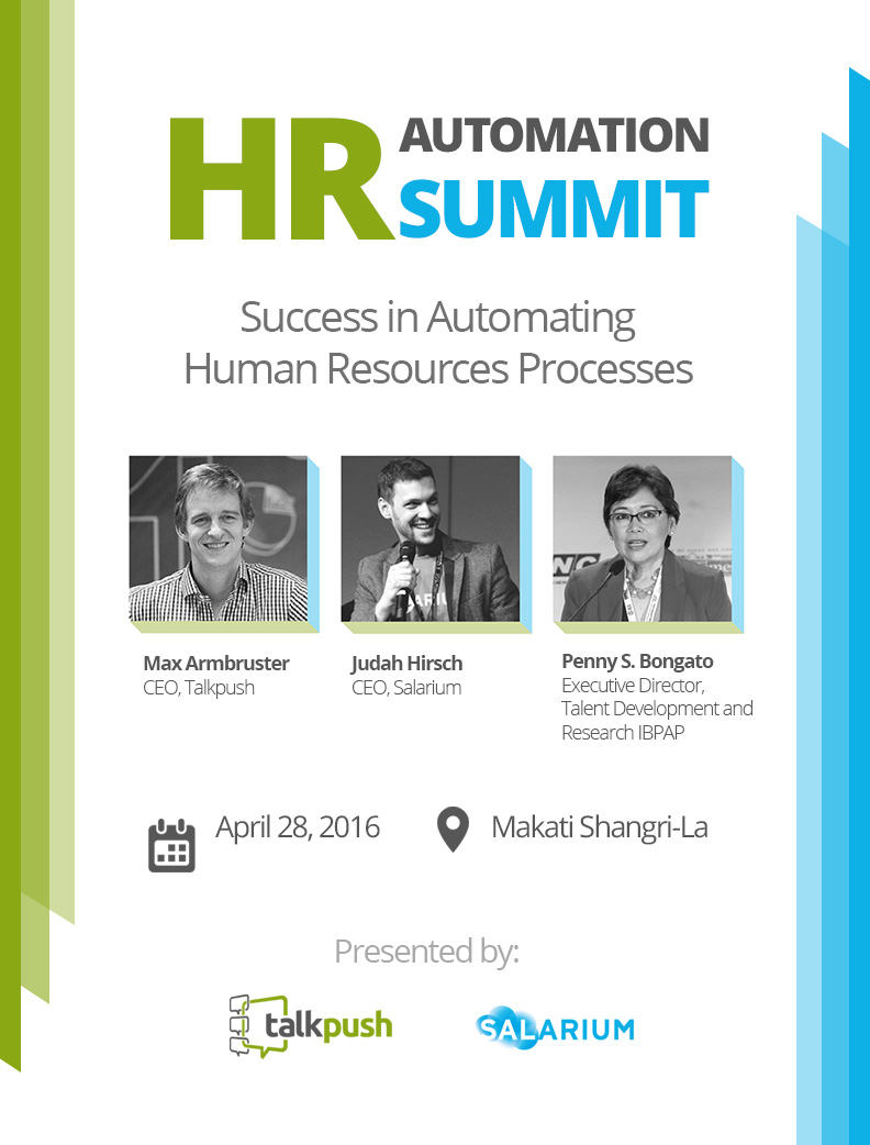 HR Automation Summit 2016