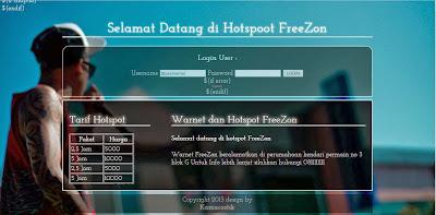 template simple login hotspot mikrotik