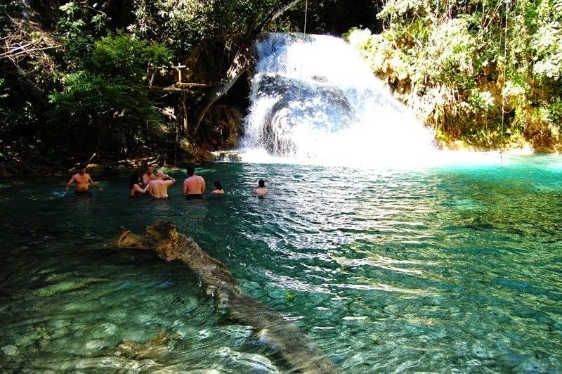 Cascadas m gicas en copalitilla huatulco oaxaca for Go fit piscinas san miguel telefono