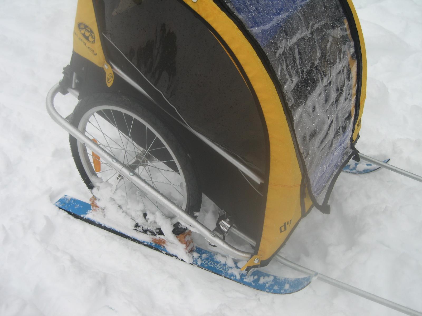 Pulk sled for child