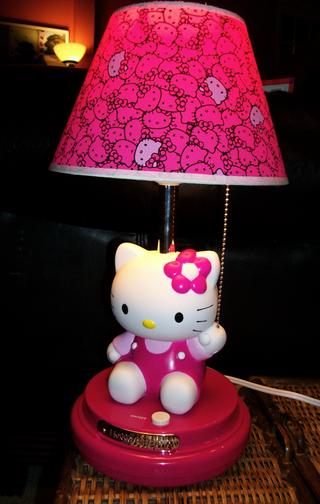 hello kitty hello kitty lamps. Black Bedroom Furniture Sets. Home Design Ideas
