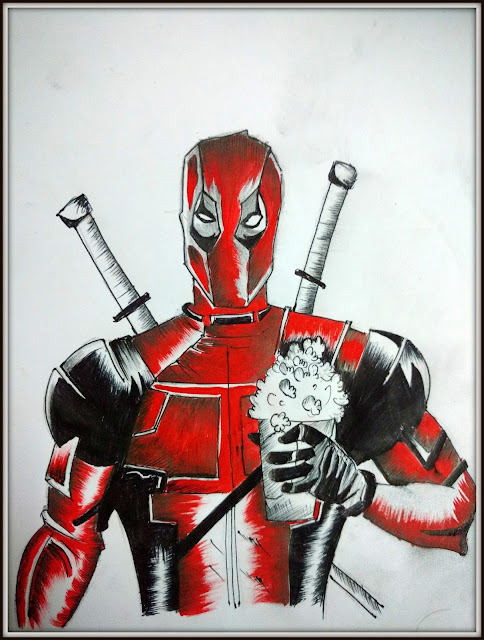 How to Draw Deadpool easy