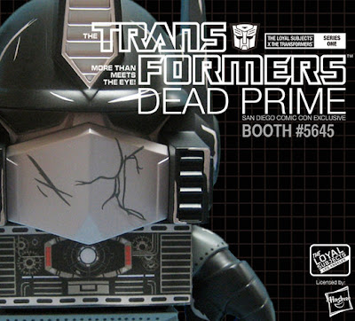 San Diego Comic-Con 2013 Exclusive Dead Optimus Prime Transformers Vinyl Figure by The Loyal Subjects