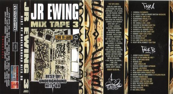 Jr Ewing Best Of Underground Hits 98 3 1998 Tapes