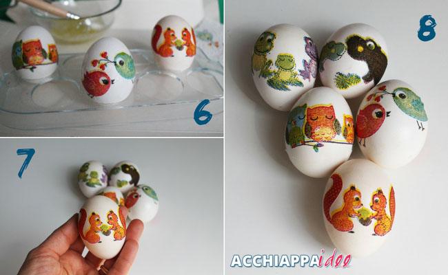 Tutorial2 uova sode decoupage presentazione