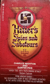 Cover - Hitler's Spies and Saboteurs by Charles Wighton and Gunter Peis