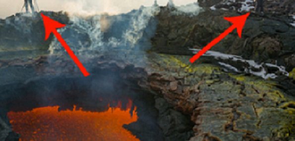 these 2 people found what looks like the gateway to hell