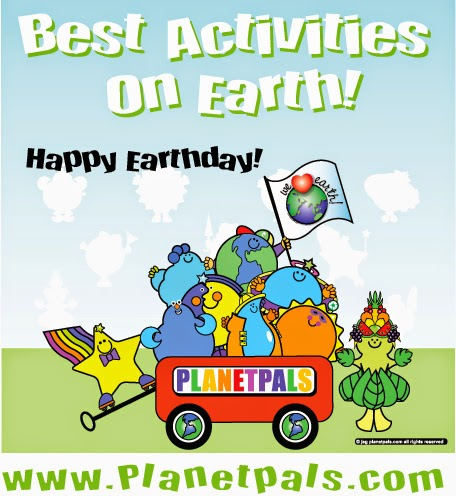 The Best Earthday Themed Crafts and Activitiies on Earth!