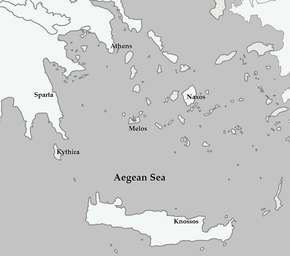 This is a photo of Canny Ancient Greece Map Labeled