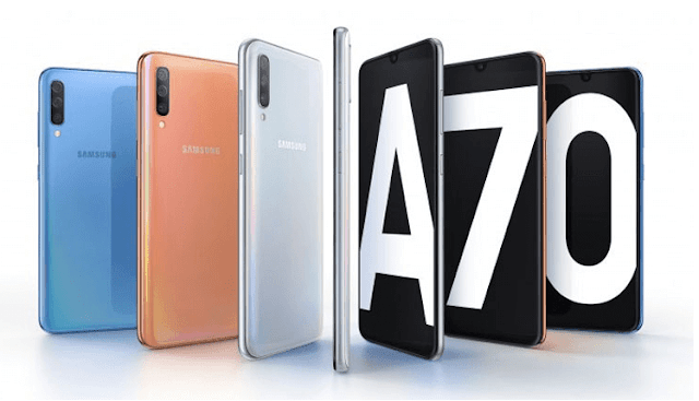 Samsung Galaxy A70 with 6.7-inch screen and 32MP cameras now official