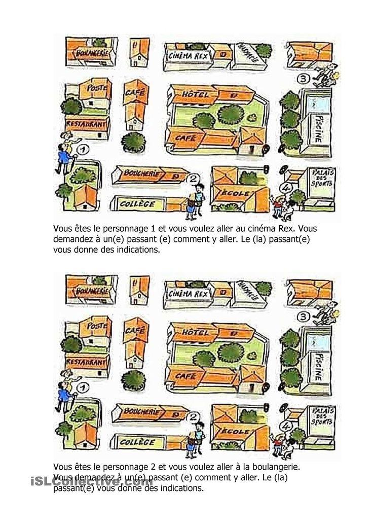 Comment Situer Un Lieu En Ville Dans Un Plan Anglais