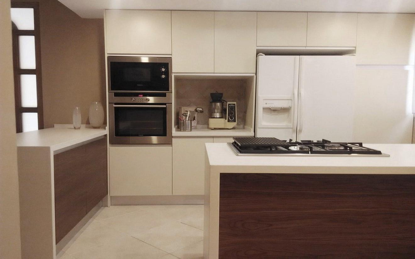 Del cl sico roble al minimalismo cocinas con estilo - Cocinas con frigorifico americano ...