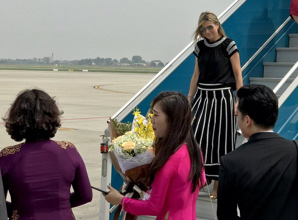 Dutch Queen Maxima's Vietnam visit 2nd Day - Hanoi