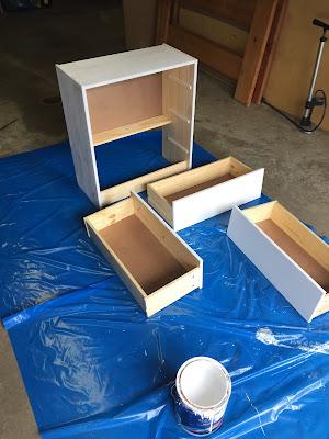 DIY IKEA Rast Dresser for under $60