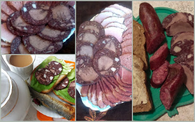 czarna kiełbasa, krwawa, ozorowa, czarny salceson
