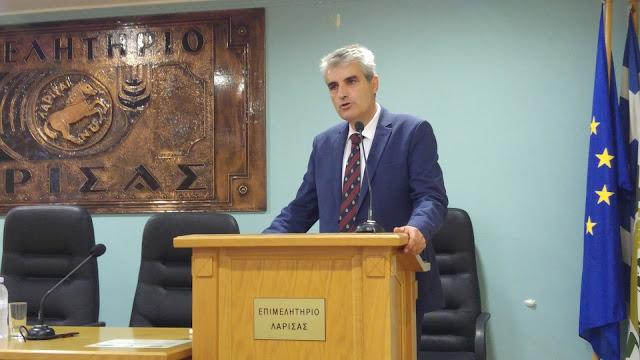 Ολοκληρώθηκε με επιτυχία η ενημερωτική εκδήλωση του Επιμελητηρίου Λάρισας με θέμα: «Ο εξωδικαστικός συμβιβασμός ως μια μεγάλη επιχειρηματική ευκαιρία»