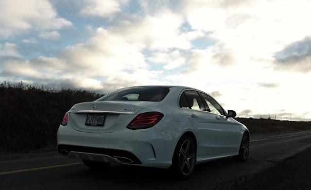 2015 Mercedes-Benz C-Class rear