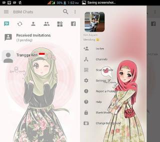 download bbm mod hijab apk versi terbaru