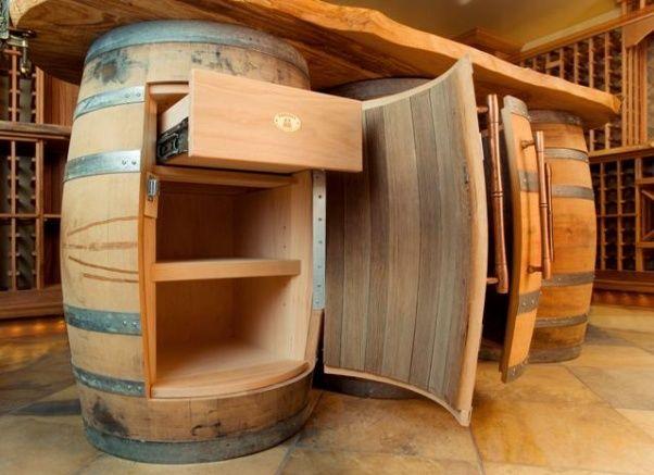 Riciclare una vecchia botte in legno soluzioni fai da te for Botti usate per arredamento