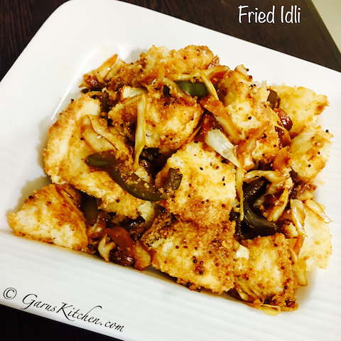 Chinese Style Fried Idli