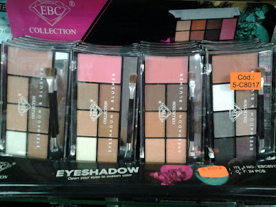 Sombra y Blusher EBC Collection