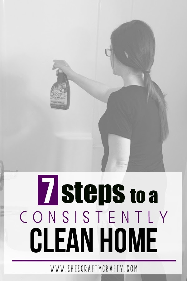 Use these 7 steps to keep your home consistently clean in only an hour a day