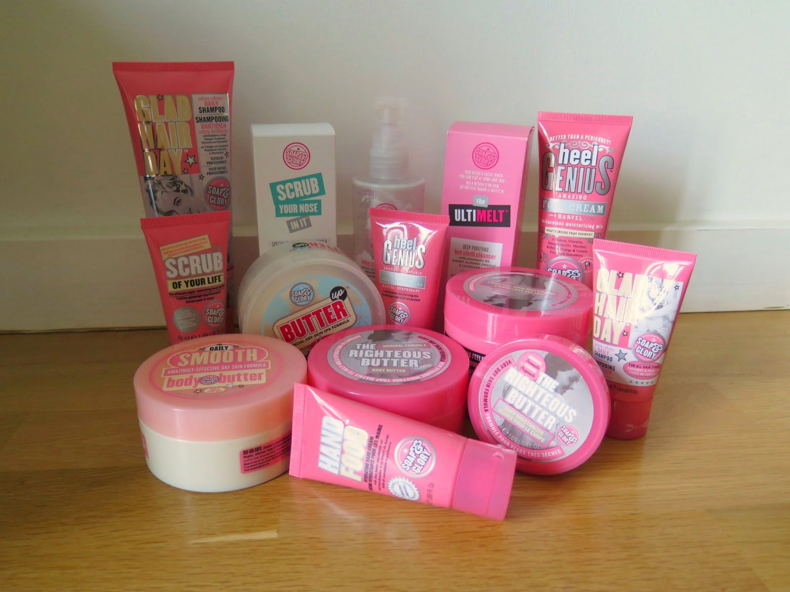 soap and glory, Michelle Louise Love