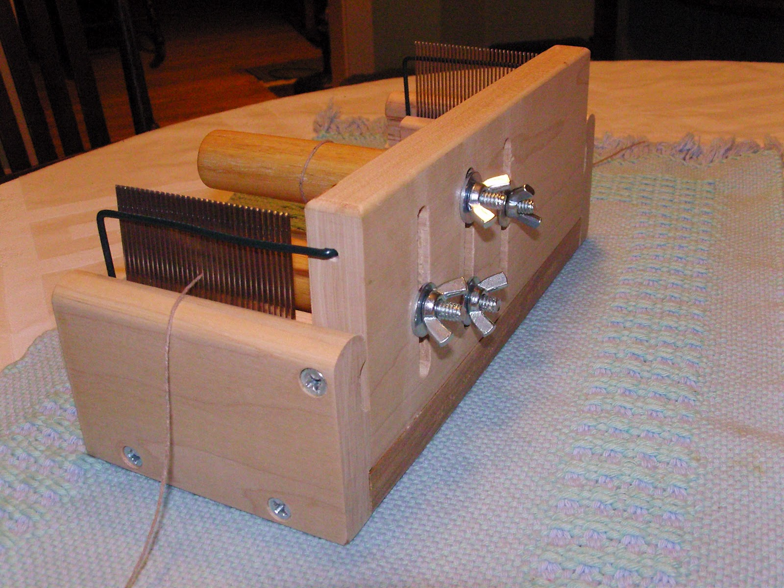 Daisy Hill Weaving Studio Tension Box For Sectional Warping