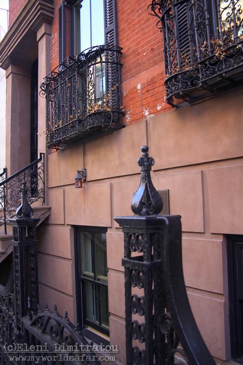Διακοσμητικά στοιχεία παλιών κτιρίων Νέας Υόρκης