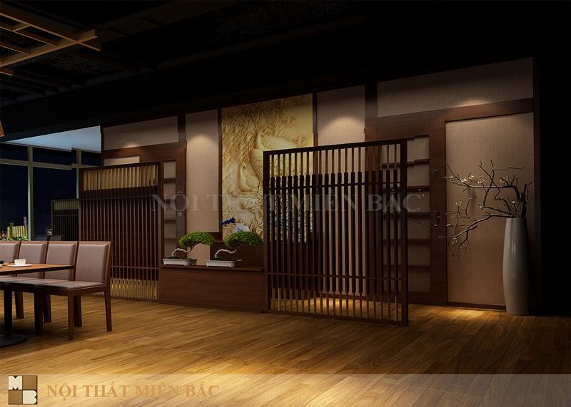 Thiết kế nhà hàng Nhật cao cấp