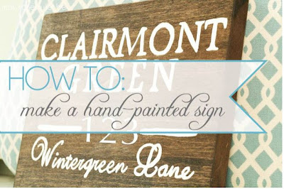 How to Make a Hand Painted Sign