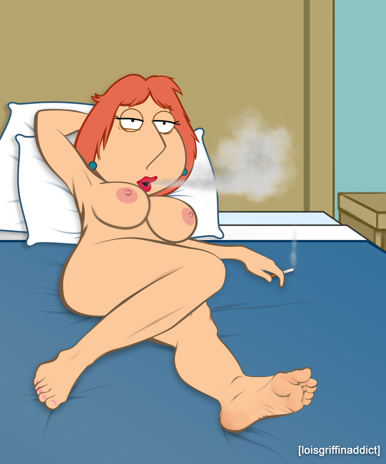 Naked lois griffin and her secret tat