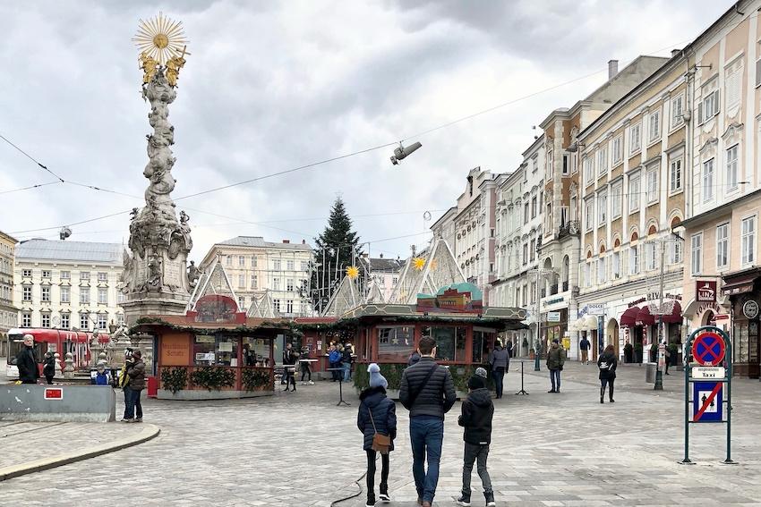 Christkindlmarkt Hauptplatz