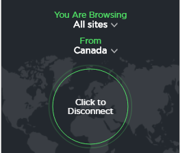 Touch vpn connected