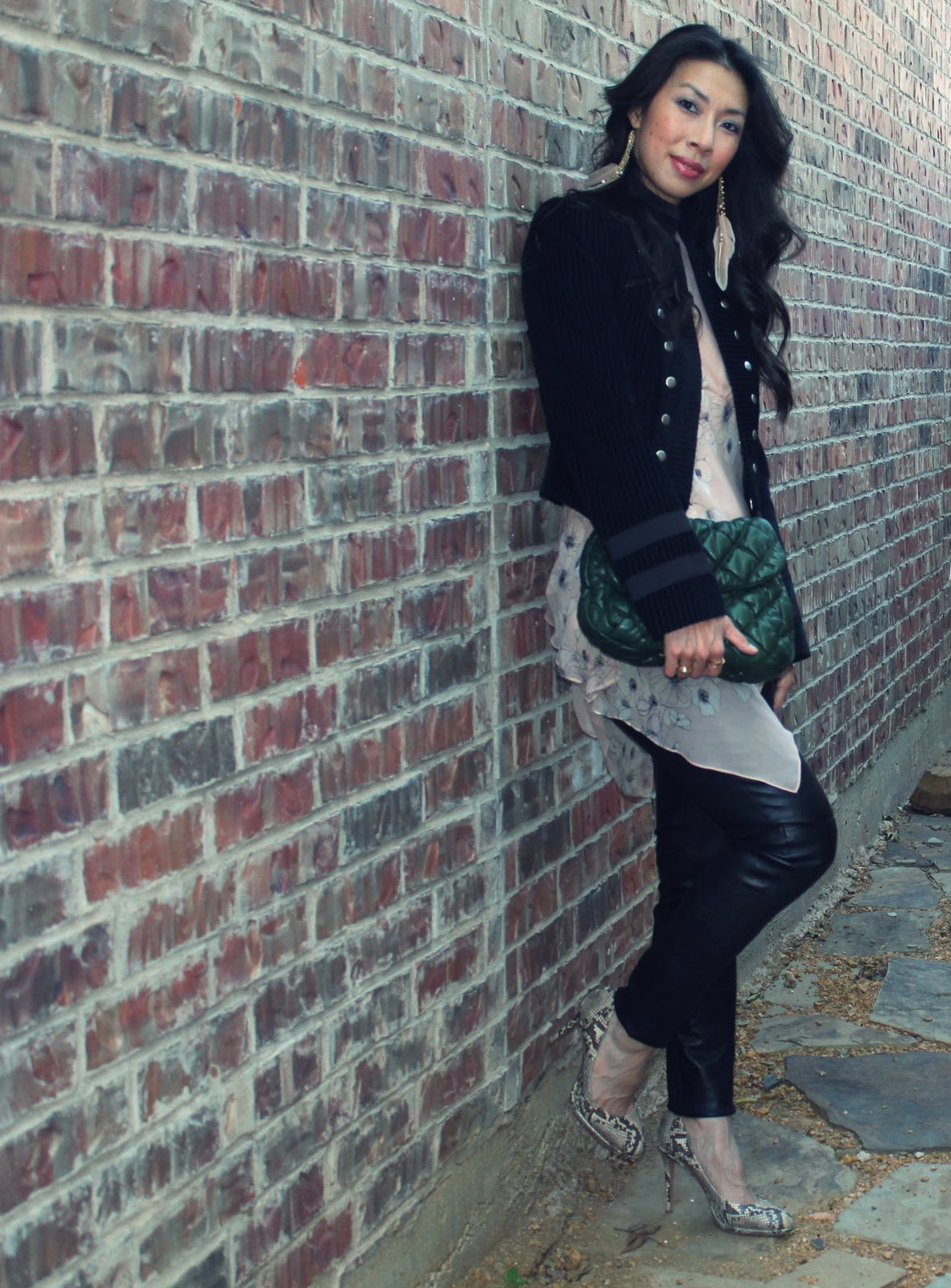 Rocker Chic - Style of Sam | DFW Fashion Blog