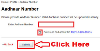 how to link aadhaar card number with kotak mahindra bank account online