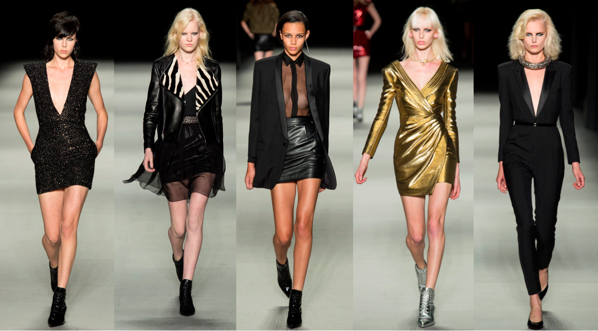 hedi slimane, ysl, runway, catwalk, fashion week, rtw, designer