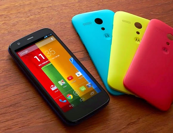 Buy Motorola's Moto G at a discounted price