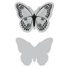 Sizzix Framelits Die w/Stamp - Wild Butterfly