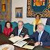 Ramos firma un convenio con COFARTA para que Talavera cuente con un nuevo mural de cerámica