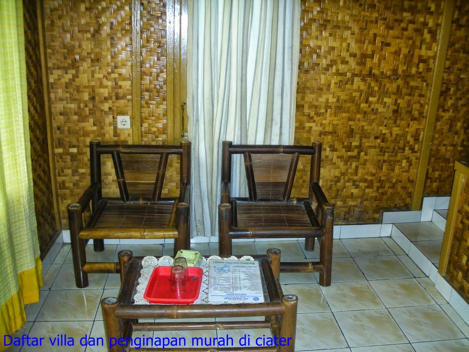 villa dan penginapan murah di ciater
