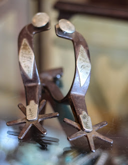 Tom Johnson engraved - Kelly Bro's Spurs