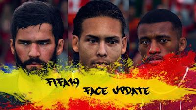 FIFA 19 Minifacepack Liverpool by CrazyRabbit
