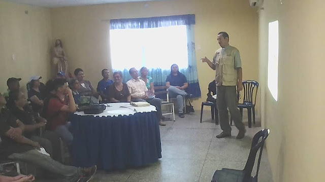 Efectuado encuentro de Cáritas en la Zona Pastoral N° 5 en San Fernando.
