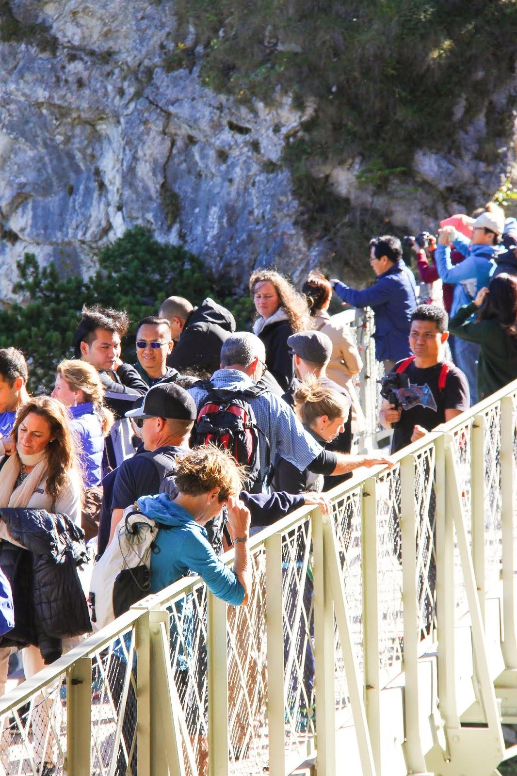 Musim Luruh Di Neuschwanstein Castle - Marienbrucke 3