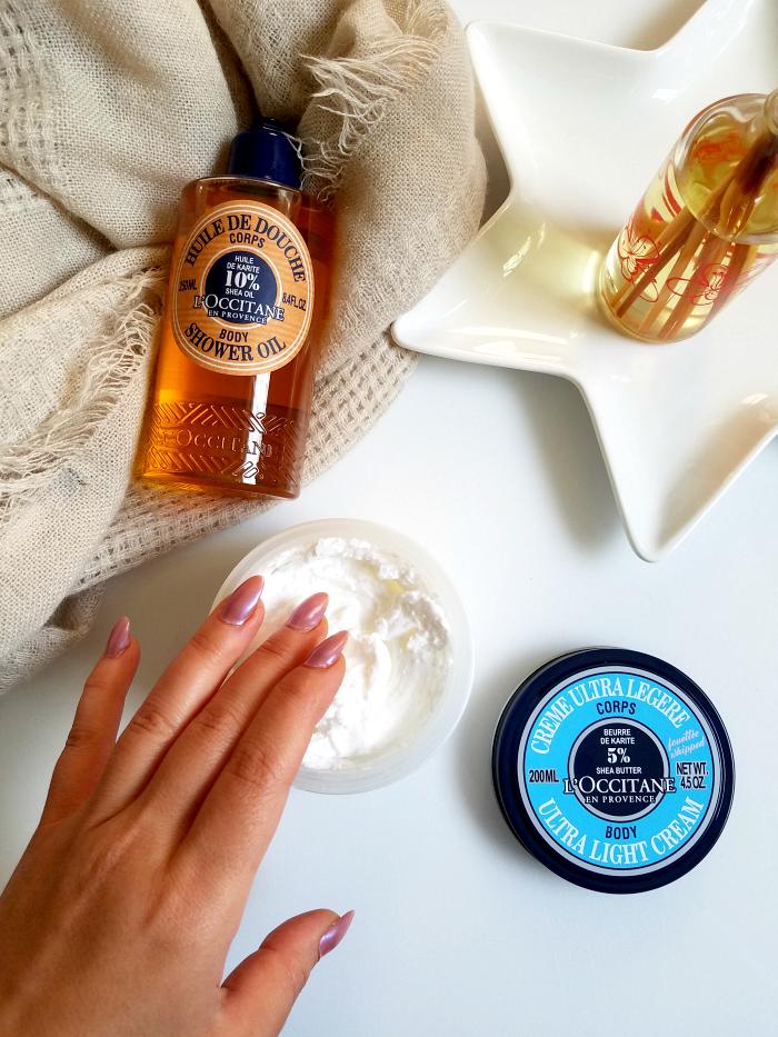 Review: L´OCCITANE Karité Body Shower Oil & Ultra Light Body Cream