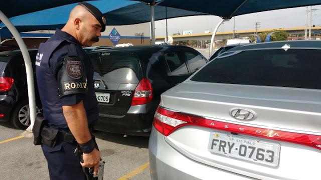 Rondas Ostensivas Municipais (ROMU) de Santo André recupera veículos roubados, um deles blindado