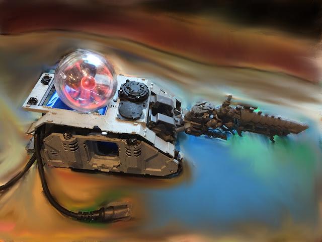 Kannon Kar; Ork Kannon; Ork Looted Tank; Plasma Ball; Ork KFF