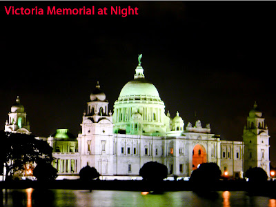 Victoria Memorial at Night